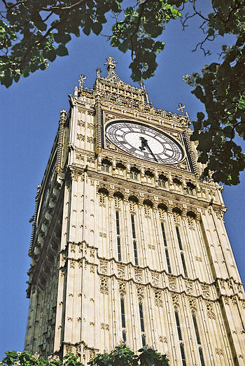 English: Big Ben in London, England, United Ki...