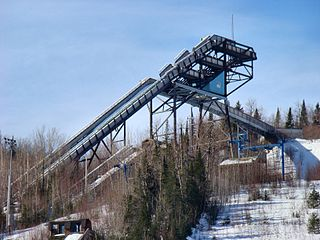 Big Thunder Ski Jumping Center architectural structure