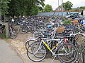 Bikes outside Cambridge railway station, England - IMG 0609.JPG