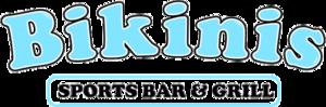 Bikinis Sports Bar & Grill - Image: Bikinis Sports Bar & Grill logo