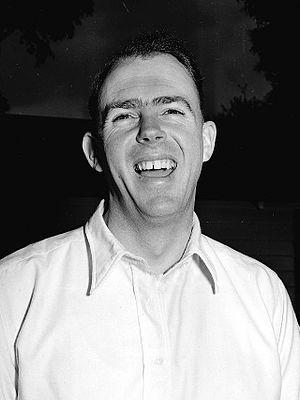 Bill Johnston (cricketer) - Johnston on 30 August 1950