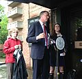 Bill de Blasio in Fresh Meadows, Queens (9007444702).jpg