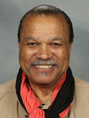 Billy Dee Williams - Williams at Paradise City Comic Con, December 2016