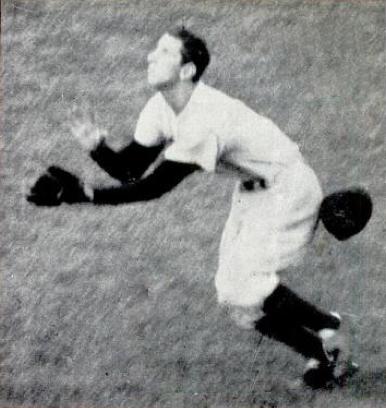 Billy Martin 1952 World Series catch