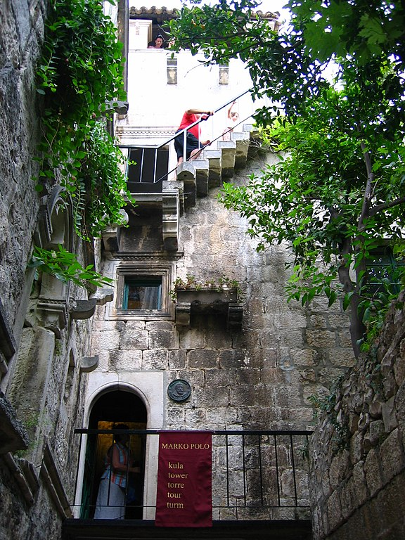 file birthplace of marco polo korcula croatia jpg wikimedia commons. Black Bedroom Furniture Sets. Home Design Ideas