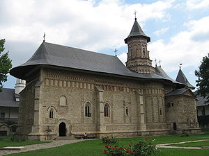 Moldavian style - Image: Biserica Manastirii Neamt
