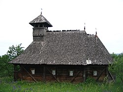 Wooden Church in Camăr