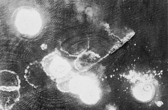 Battle of the Bismarck Sea - Image: Bismarck Sea Ship