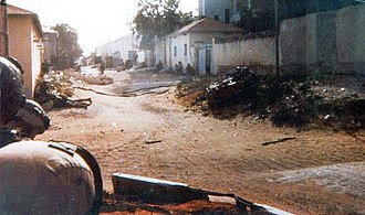 Operation Gothic Serpent - Task Force Ranger under fire in Somalia – 3 October 1993