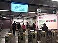 Black dark night 香港反對逃犯條例 Anti-HK bill demo against extradition bill protect MTR Station visitors July 2019 SSG 02.jpg