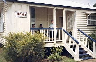 Queensland Country Women's Association - Image: Blackbutt Library & Queensland Country Women's Association building