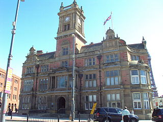 Blackpool Coastal town and unitary authority in north west England