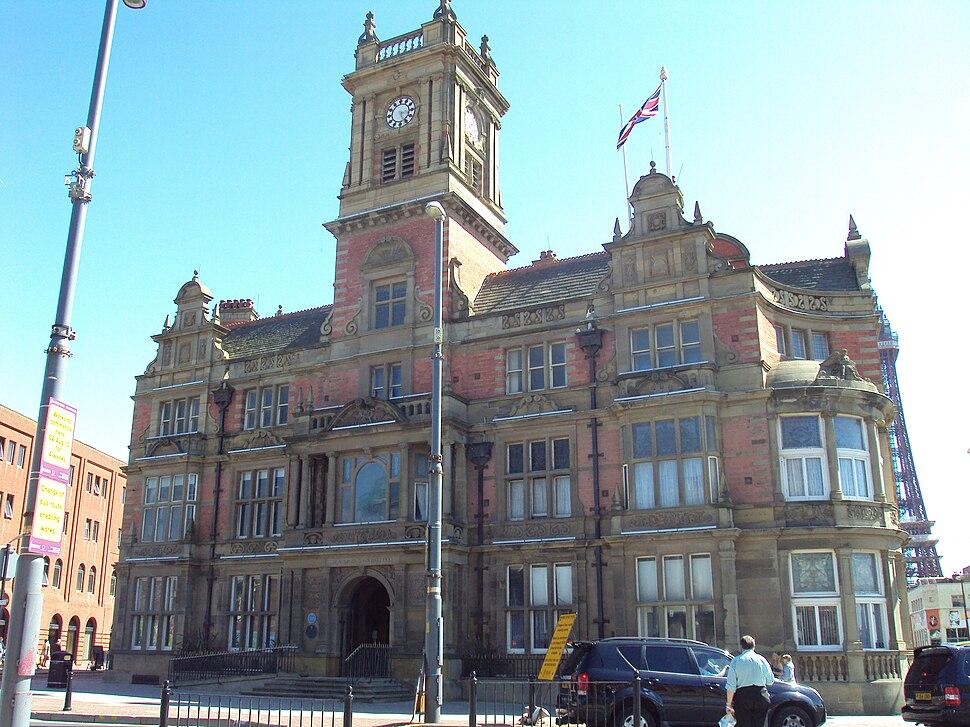 Blackpool Town Hall - DSC07226