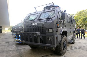 Military Police (Brazil) - Image: Blindados 2