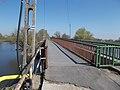Blue Trail sign, Hortobágy-Berettyó Road Bridge, 2019 Mezőtúr.jpg