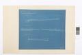 Blueprint på stenläggning , Hallwylska palatset - Hallwylska museet - 101070.tif