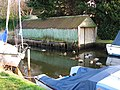 Boathouse with mallards - geograph.org.uk - 1098546.jpg