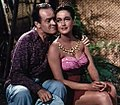 Bob Hope and Dorothy Lamour in Road to Bali.jpg