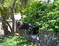 Bodden Town cannon at Guard House.jpg