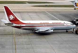 "Edough Massif - The Air Algerie Boeing 737-2D6/Adv named ""Edough"""