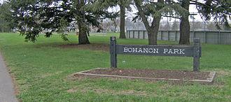 Bohanon Park - Image: Bohanon Park Sign