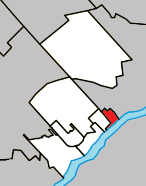 Bois-des-Filion, Quebec - Image: Bois des Filion Quebec location diagram