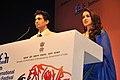 Bollywood actor Gulsan and actress Tiska Chopra at the closing ceremony of the 44th International Film Festival of India (IFFI-2013), at Panaji, Goa on November 30, 2013.jpg