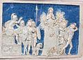 Bolsena, s. cristina, chiesa maggiore, int., ciborio di benedetto buglioni, predella 01.jpg
