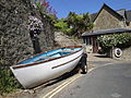 Bonchurch Shore Road boat.JPG