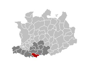 Bonheiden - Image: Bonheiden Locatie