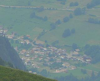 Bonnevaux, Haute-Savoie Commune in Auvergne-Rhône-Alpes, France