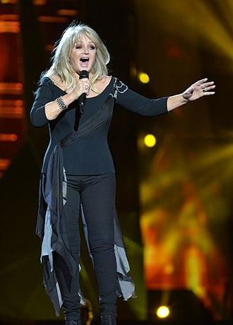 Bonnie Tyler - Bonnie Tyler during a rehearsal for the Eurovision Song Contest in Malmö, Sweden on 15 May 2013