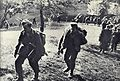 Borci Tomšičeve brigade odhajajo 19. marca 1944 v napad na nemško postojanko.jpg