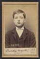Bordes. Auguste. 15 ans, né à Paris XVIIIe. Garçon Marchand de vins. Anarchiste. 9-3-94. MET DP290188.jpg