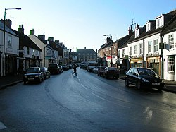 Hovudgata i Boroughbridge