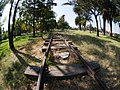 Bosque de Aragon- toy train tracks.jpg