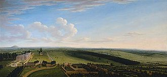 Dixie baronets - Bosworth Hall and Park, c. 1725