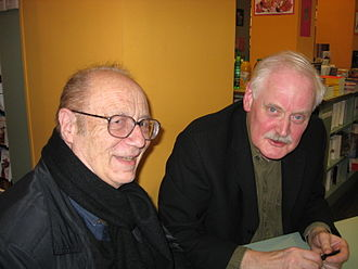 Bernard Willem Holtrop - Willem (right) with Pierre Bourgeade, 2008