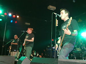 Bowling for Soup - Bowling for Soup performs in Manchester, England