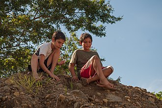Venezuelans - Boys from Margarita Island, Nueva Esparta.