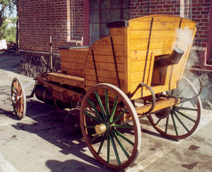 Josef Božek - Replica of Božek's Steam car