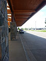 Bozeman Yellowstone Airport taxi stand - Bozeman Montana - 2013-07-01 (9269348405).jpg