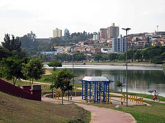 Bragança Paulista - View from Lago do Taboão