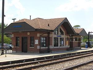 Brainerd station - Brainerd Metra Station