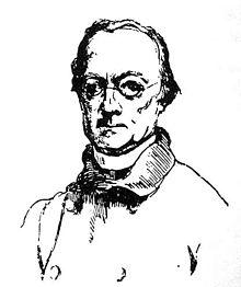 Abbé Charles Étienne Brasseur de Bourbourg. Lithograph from J. Windsor's 19th-century publication, Aboriginal America.