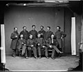 Brevet Brigadier General William Cogswell and Staff of Nine. (3996054636).jpg