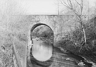 National Register of Historic Places listings in Luzerne County, Pennsylvania - Image: Bridge in City of Wilkes Barre