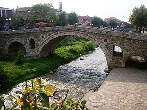 Bridge in Prizren and the White Drin.jpg