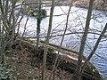 Bridge piers of the old Border Counties Railway viaduct (2) - geograph.org.uk - 1057551.jpg
