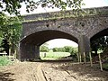 Bridleway passes under old railway bridge - geograph.org.uk - 439199.jpg